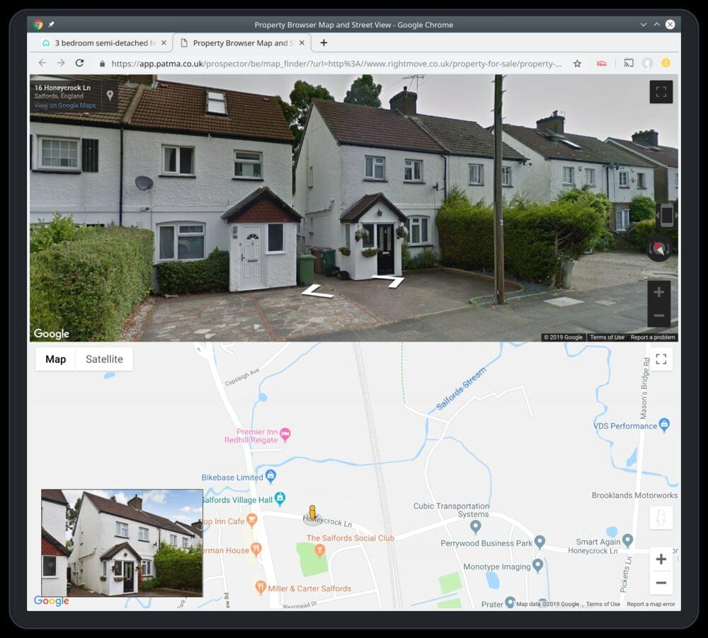 StreetView Property Finder